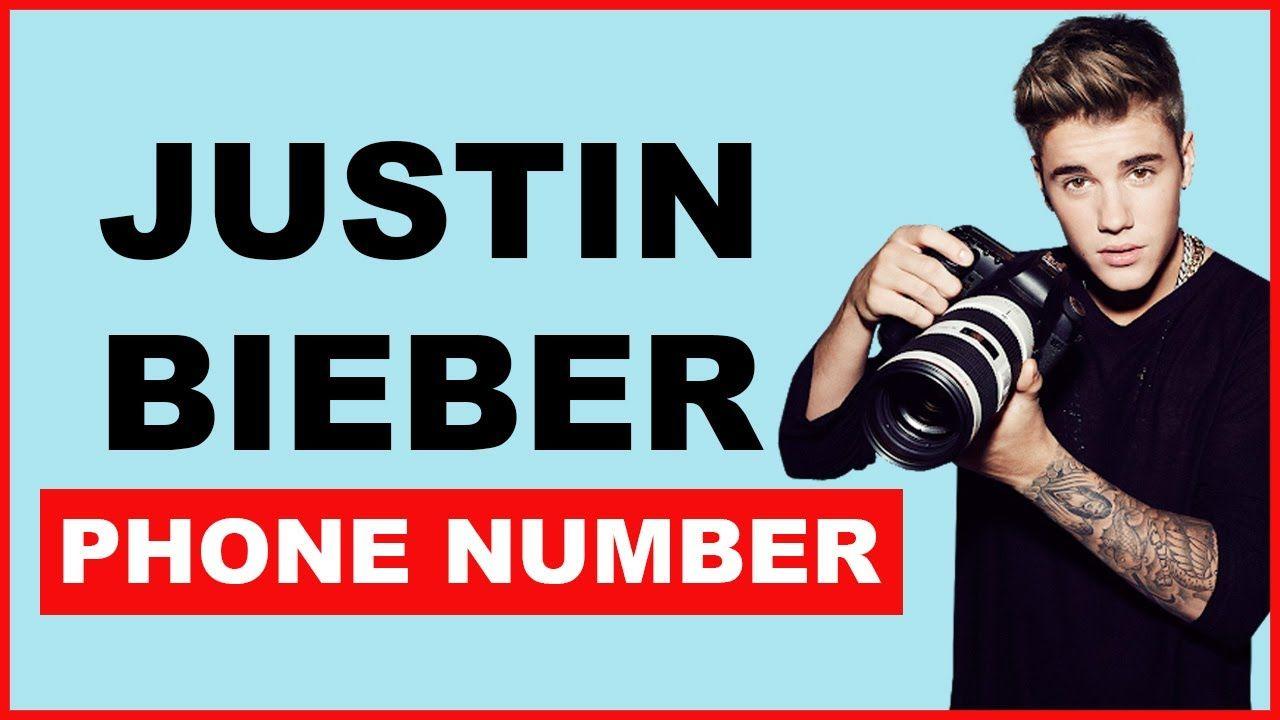 Justin Bieber Phone Number
