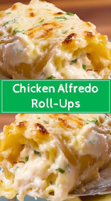 Chicken Alfredo Roll-Ups Recipe