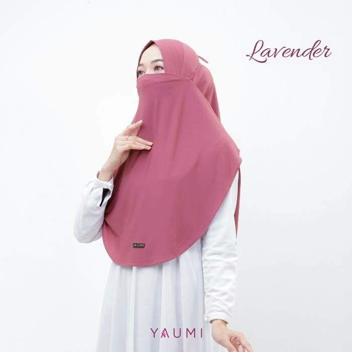Yaumi Hijab Khimar Almira Lavender