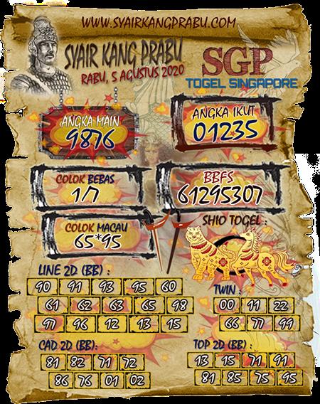 Syair Kang Prabu SGP Rabu