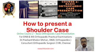 how to present a shoulder case