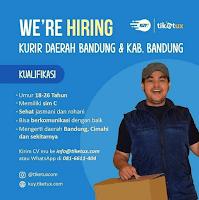Lowongan Kerja Kurir Tiketux Bandung