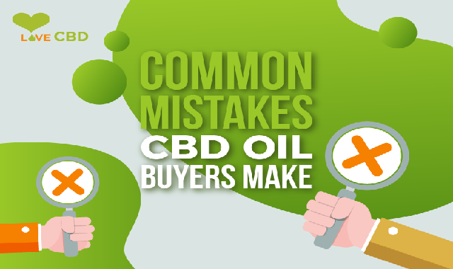 Common Mistakes CBD Oil Buyers Make #infographic