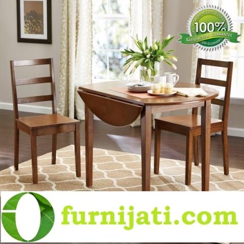 Model kursi makan kayu minimalis