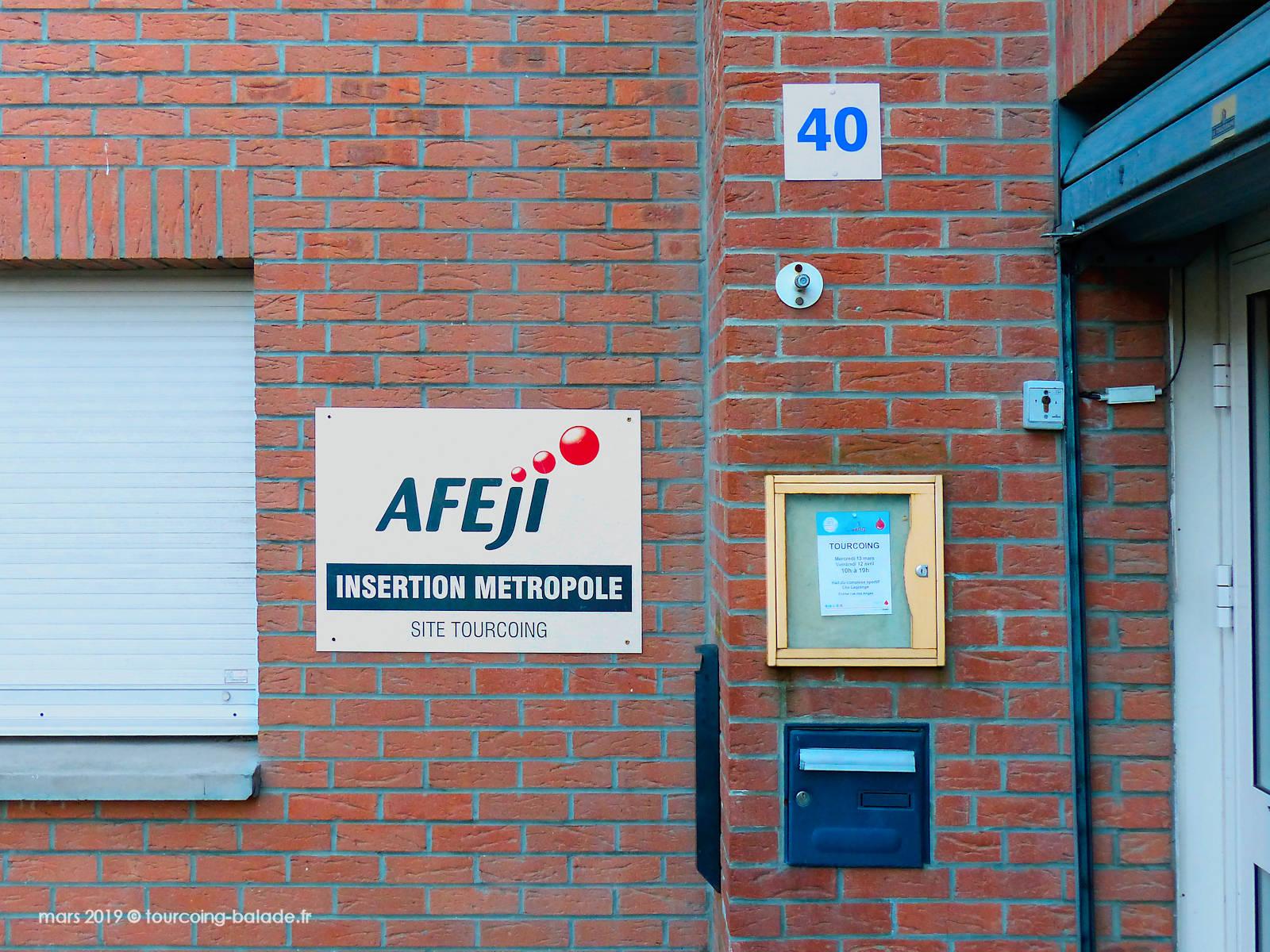 AFEJI Insertion Métropole, Site Tourcoing