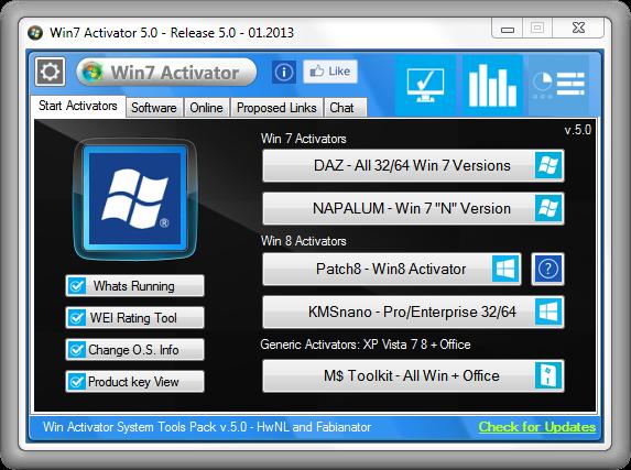 windows 7 professional loader activator