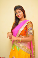 Lucky Sree in dasling Pink Saree and Orange Choli DSC 0358 1600x1063.JPG