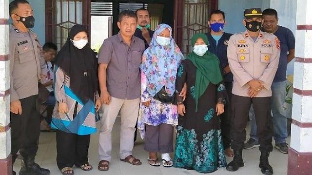 Perempuan asal Sumatera Barat Terlantar di Aceh Timur, Kini Diserahkan ke Orang Tuanya