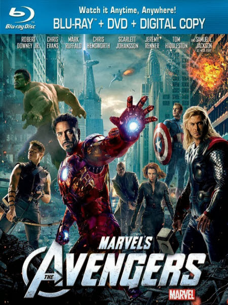 The Avengers 2012 Dual Audio 5.1ch 1080p BRRip HEVC x265