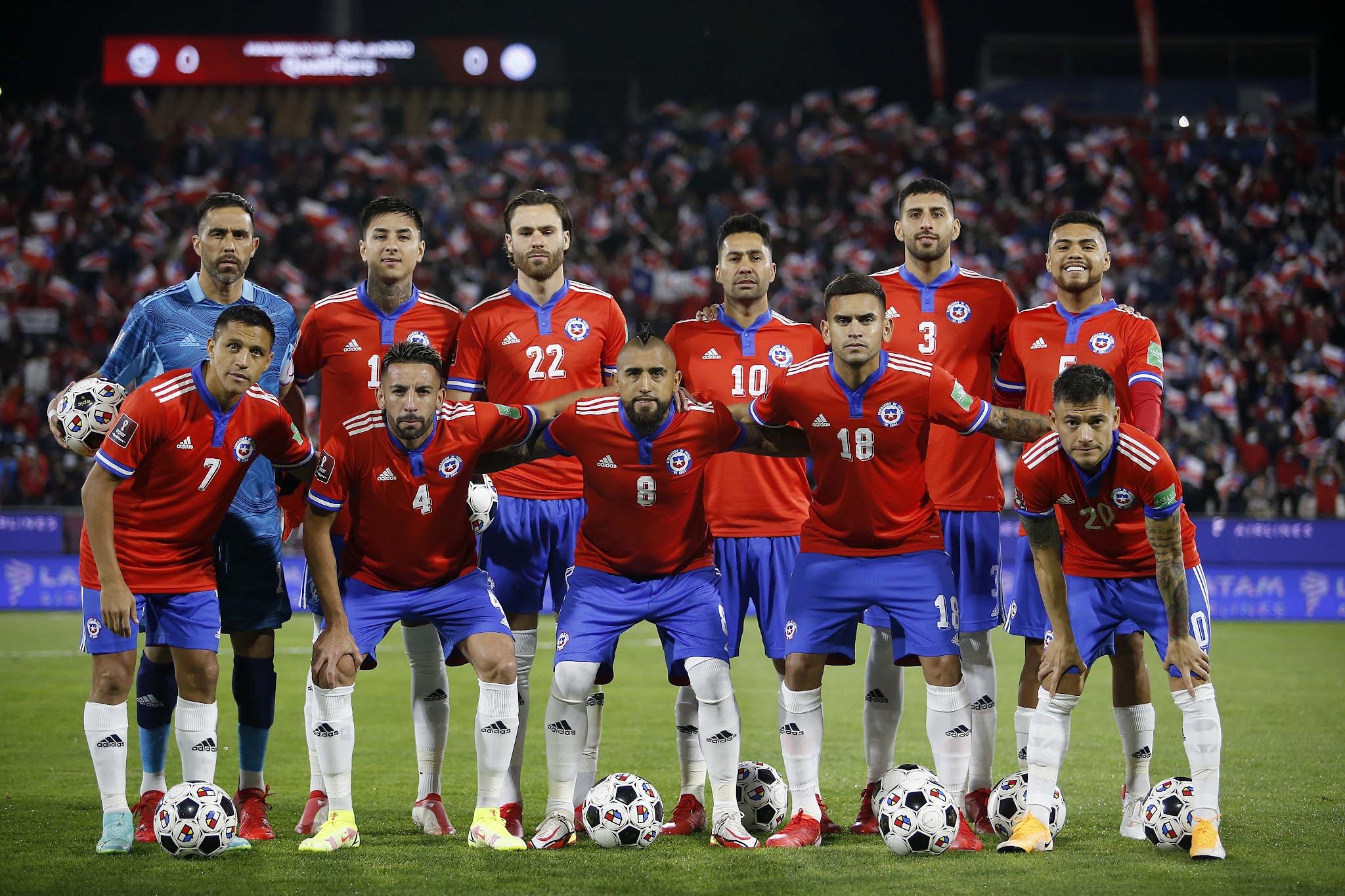 Formación de Chile ante Paraguay, Clasificatorias Catar 2022, 10 de octubre de 2021