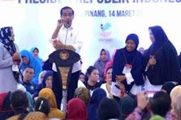 Jokowi Ingatkan Dana PKH Boleh Digunakan Untuk Pendidikan
