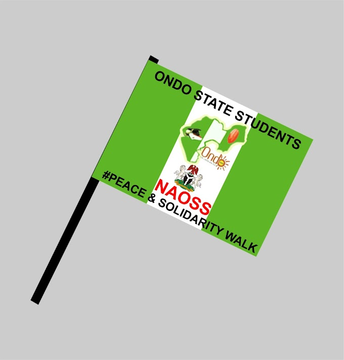 Ondo State Students raised Campaign flag off on payment of Bursary and Scholarship .