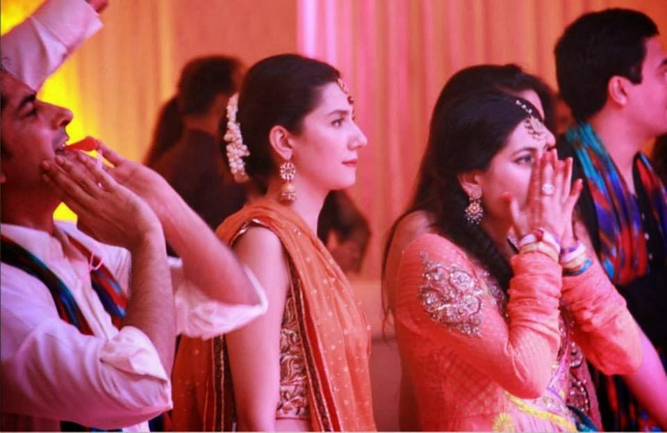 Mahira Khan At Nida Khan Wedding B Amp G Fashion