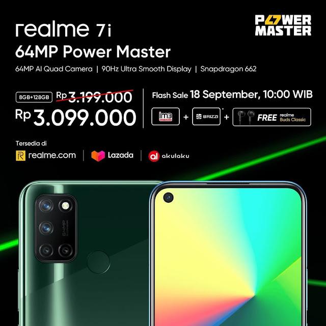 سعر هاتف Realme 7I ريلمي 7i