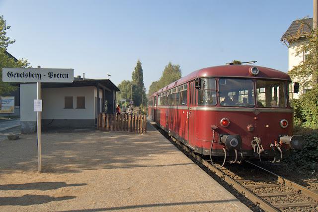 Bahnsteig Haltepunkt Gevelsberg-Poeten