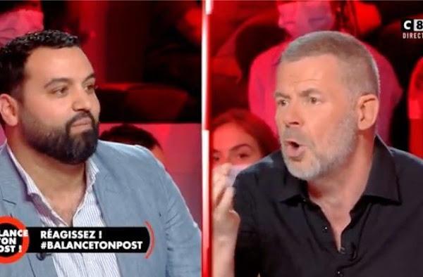 """[VIDEOS] """"D'où tu me traites de facho ?"""" : Débat très tendu entre Eric Naulleau et Yassine Belattar dans Balance ton post"""