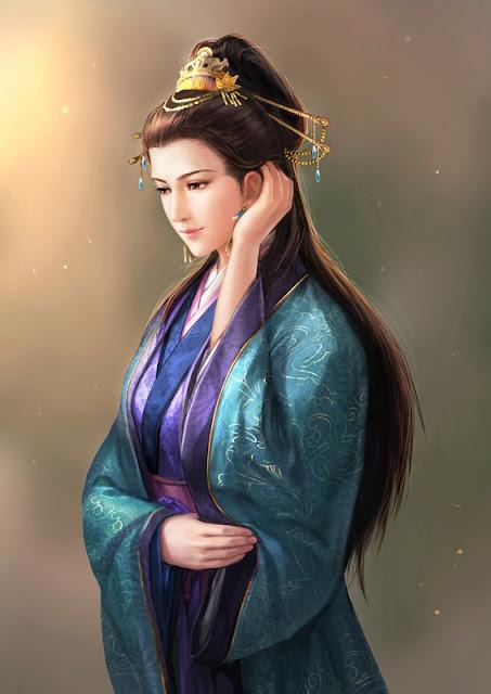 ตู้ซือ ภรรยาสาวของจีนอี้หลู่ ที่กวนอูตกหลุมรัก