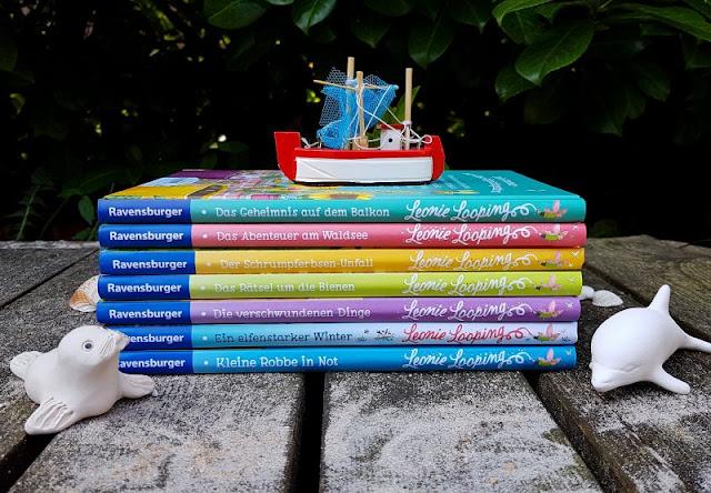 """Heute ein Buch! Die elfenstarke Umwelt-Kinderbuch-Serie """"Leonie Looping"""" und das Thema """"Müll im Meer"""". Kinder und Elfen halten in dieser tollen Buch-Reihe zusammen, um die Umwelt zu retten."""