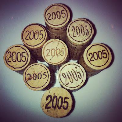 Primeira fotogarfia publicada no artigo Uma surpreendente degustação horizontal de Saint Émilions Grands Crus da exuberante safra 2005!