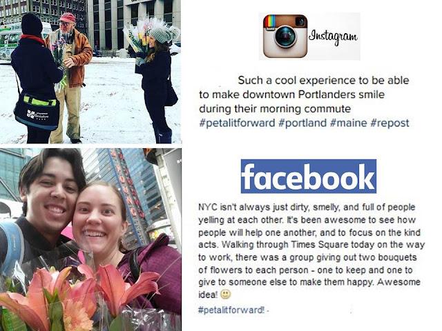 Petal it Forward Social Media