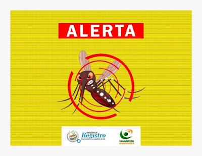 Dengue: Boletim Epidemiológico , 596 casos em Registro-SP