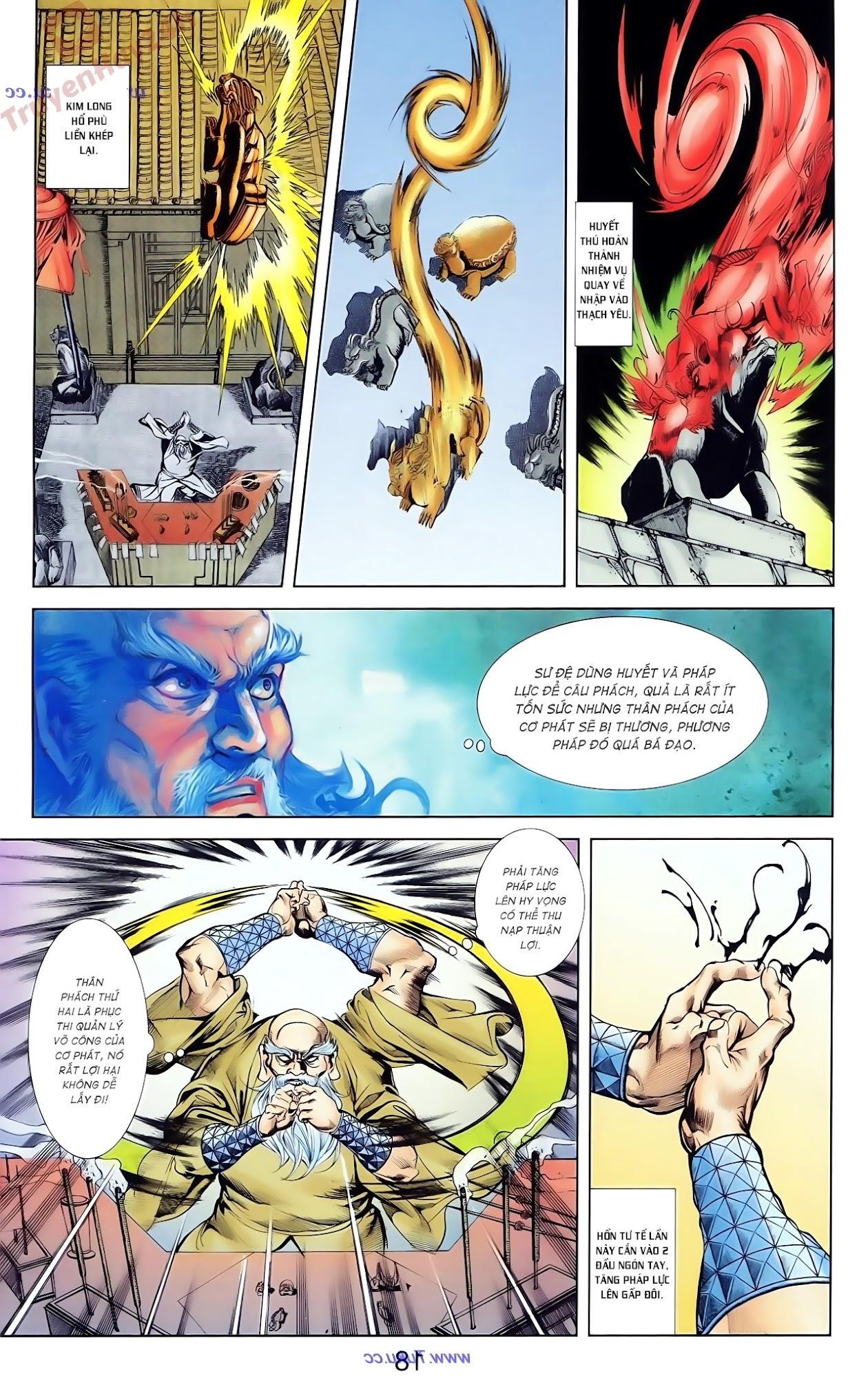 Cơ Phát Khai Chu Bản chapter 79 trang 22
