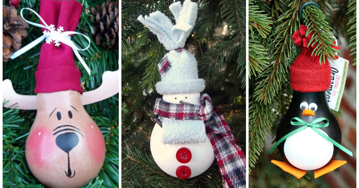 Como hacer adornos navide os con material reciclado - Hacer videos navidenos ...