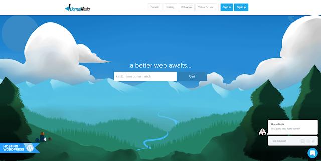 Domainesia jasa web hosting terpercaya, terbaik, termurah indonesia