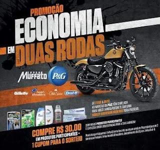 Promoção Super Muffato Economia em Duas Rodas - Concorra Moto Harley-Davidson