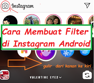 Cara Membuat Filter di Instagram Android