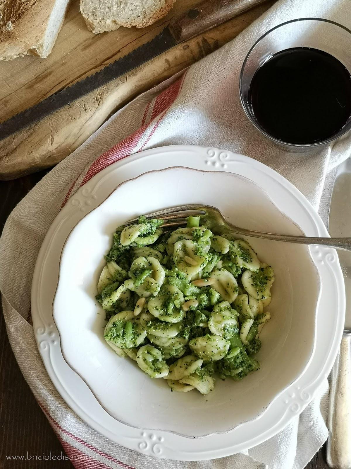 ricetta orecchiette con i broccoli
