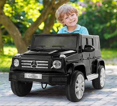 Джип Акумулаторен 12V MERCEDES-BENZ G500 С Родителски Контрол