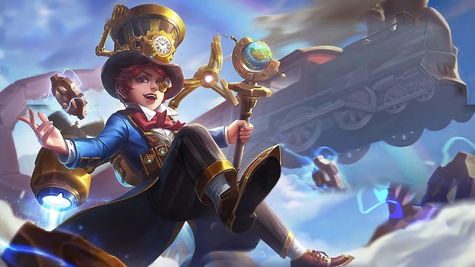 Wallpaper Harley Great Inventor Skin Mobile Legends HD for PC