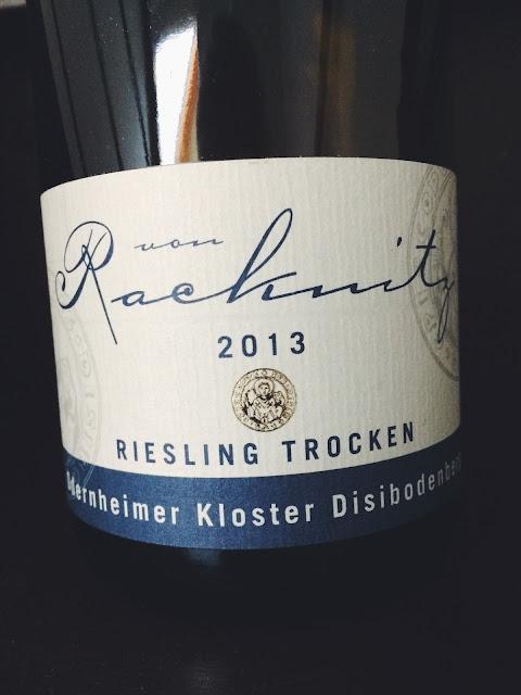 Riesling Odernheimer Kloster Disibodenberg vom Weingut Racknitz