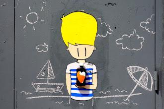 Sunday Street Art : Little - rue des Hospitalières Saint Gervais - Paris 4