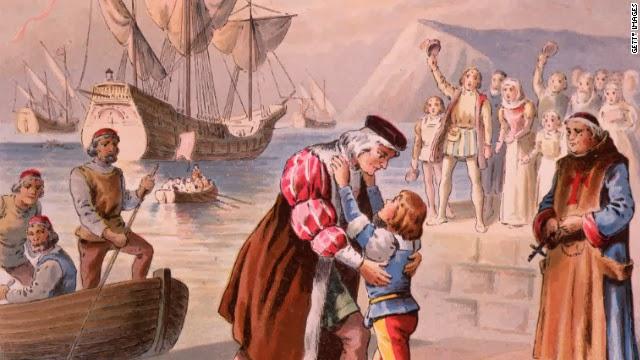 Todo el mundo conoce la historia de Colón. Era un explorador italiano de Génova, que zarpó en 1492 para enriquecer a los monarcas españoles con oro y especias de Oriente. Pero durante demasiado tiempo, los estudiosos hicieron caso omiso una gran pasión de Colón: la búsqueda de liberar a Jerusalem de los musulmanes.