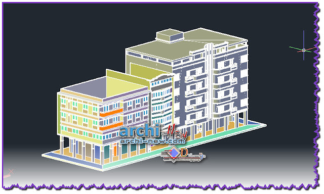 download-autocad-cad-dwg-file-3d-block-housing