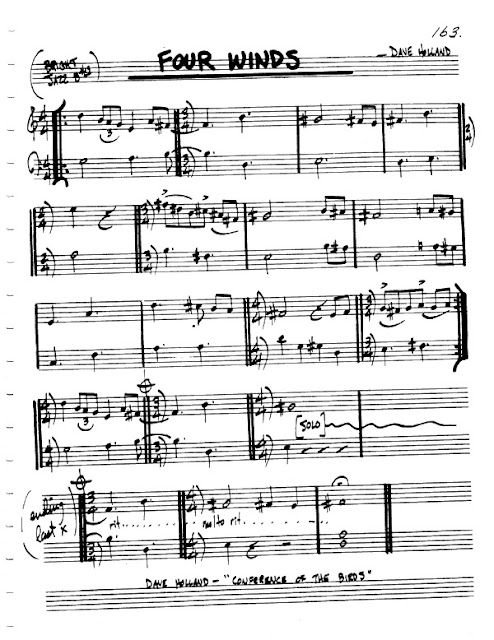 Partitura Flauta Dave Holland