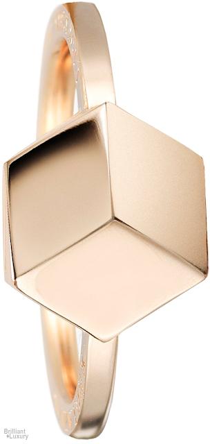 Brilliant Luxury♦Paolo Costagli Stackable 18ct Rose Gold Brillante® 9mm Ring