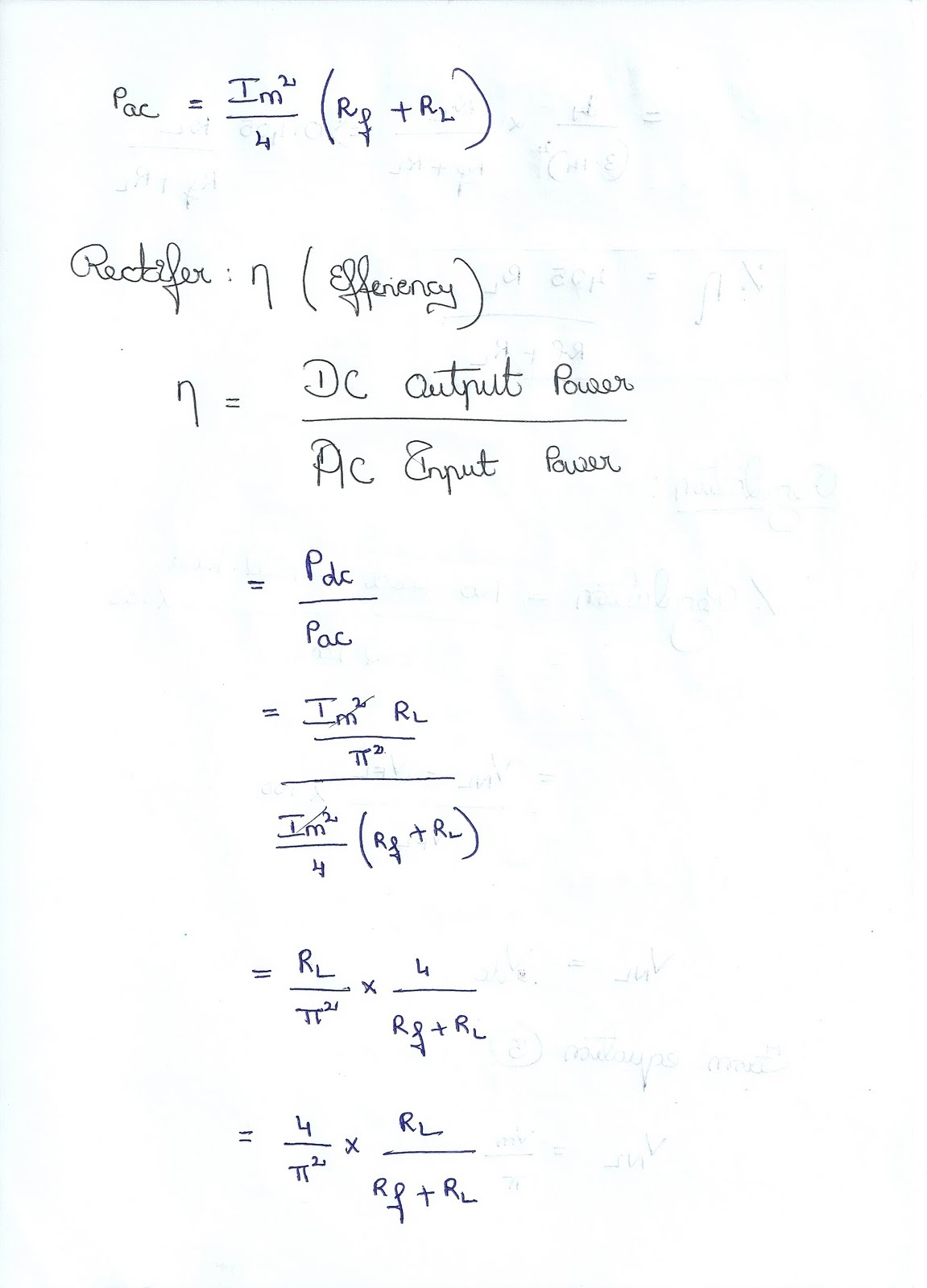 Half Wave Rectifier Analysis ~ Vidyarthiplus (V+) Blog - A Blog