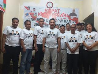 DPP Lembaga Kader Militan Jokowi  (KAMIJO) menyampaikan Surat Usulan Jabatan Presiden & Wakil Presiden RI jadi 3 (Tiga) Periode