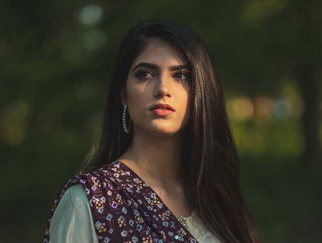 Sanya Shahzad is a Pakistani singer, songwriter, and multi-instrumentalist. Picture credits: Mawa Durrani