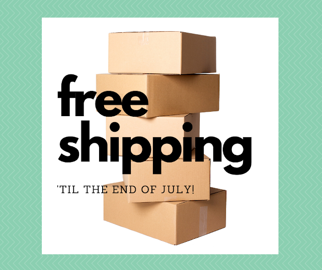 free shipping in july
