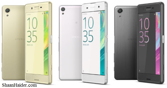 Sony Xperia X Performanc, Xperia XA and Xperia X - Detailed Hardware Specs, Features, Price and Review