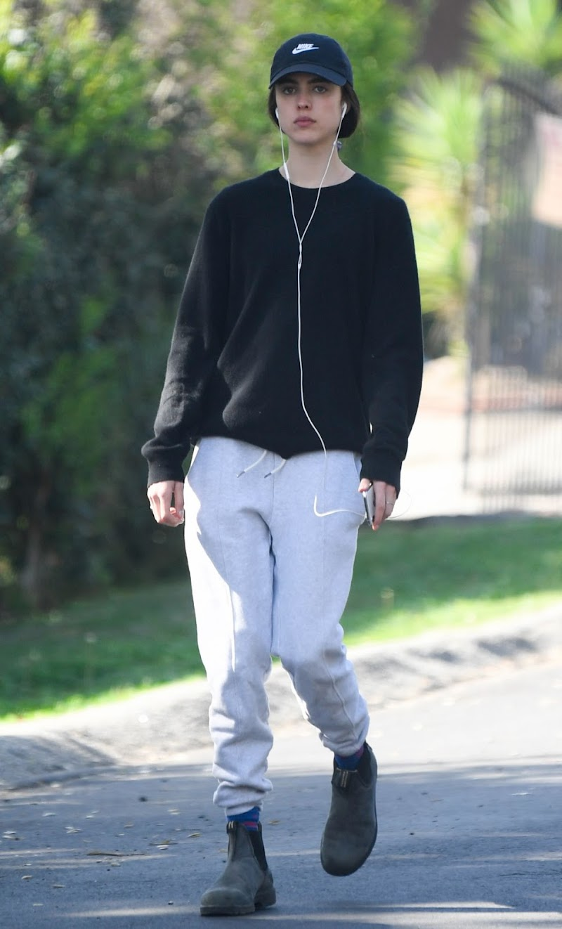 Margaret Qualley Clicked Outside in Los Angeles 19 Mar -2020