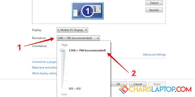 Cara Mengembalikan Layar Windows 7