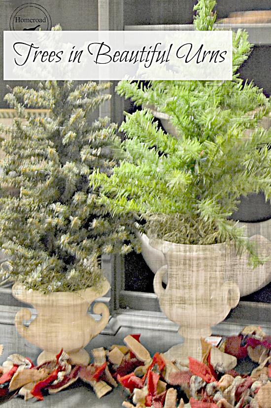 Christmas tree pin with overlay