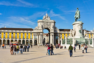 Commerce-Square-in-Lisbon-Portugal