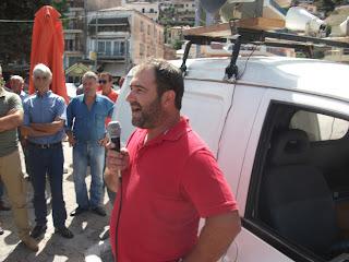 Συγκέντρωση του ΚΚΕ στον Αστακό