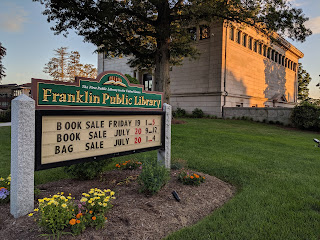 Franklin Library Book Sale - Jul 19 & 20